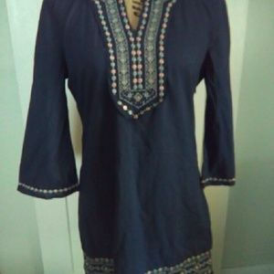 Esley cotton Embroidered Dress